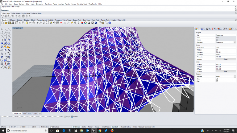 3-d modeling with Rhino